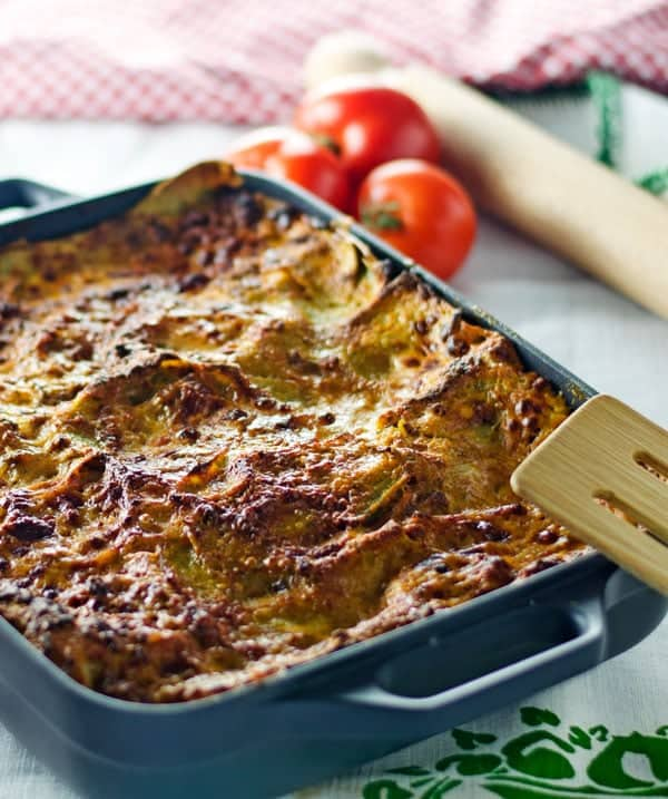 Lasagne Verdi! Hand made pasta is a lot of work but surely it is rewarding