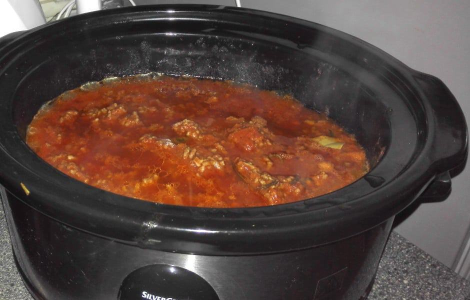 making ragu is a delicious excercise in patience