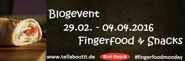 fingerfoodmonday bei www.tellaboutit.de