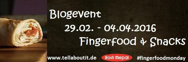 fingerfoodmonday bei www.tellaboutit.de