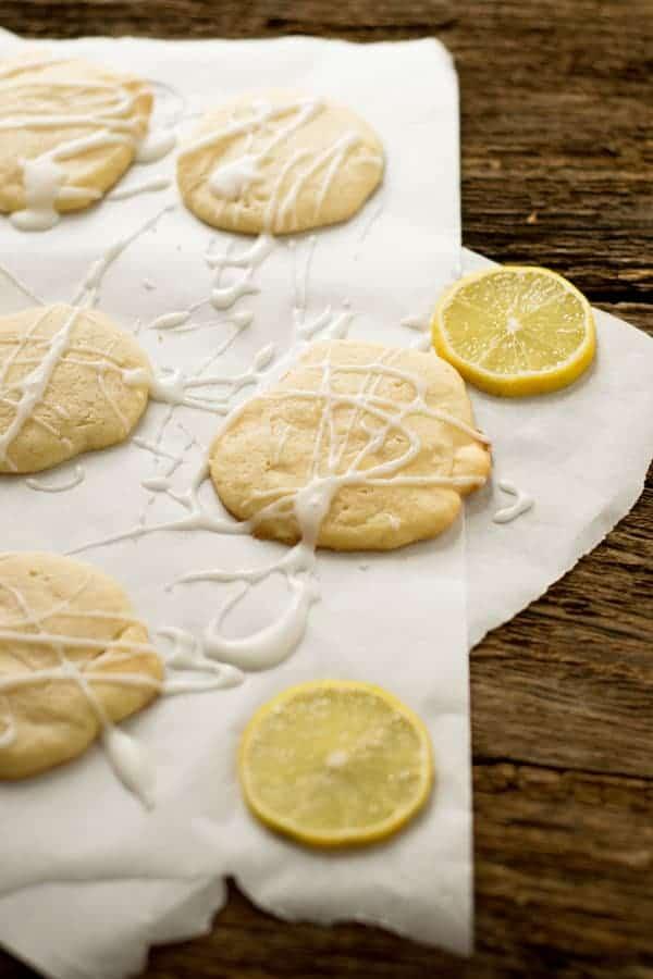 white chocolate lemon cookies, einfach gemacht, schmecken grandios!