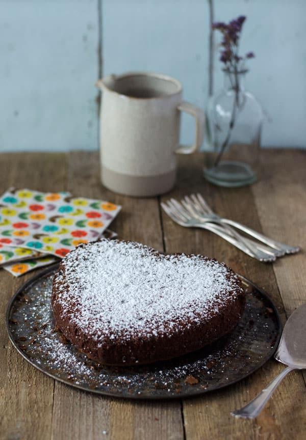Einfacher, leckerer Nutellakuchen