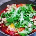 Mein liebstes vegetarisches Fitness-Rezept - Shakshuka