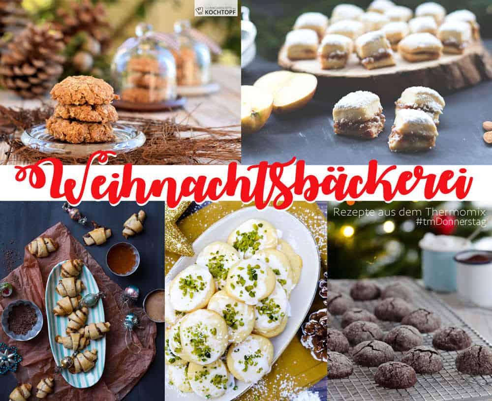 Weihnachtsbäckerei am Thermomix Donnerstag. Fünf wunderbare Plätzchenrezepte für den Thermomix
