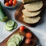 saftiges Zucchinibrot