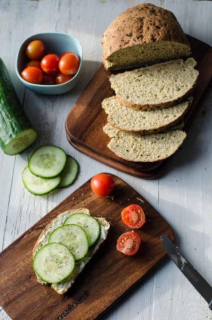 Saftiges Zucchinibrot Zubereitung Mit Und Ohne Thermomix Eine