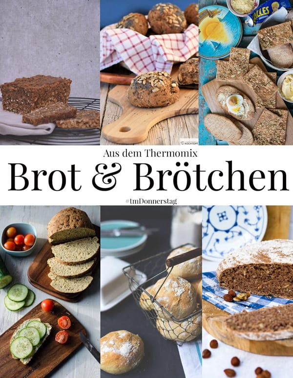 saftiges Zucchinibrot - Zubereitung mit und ohne Thermomix. Einfach und schnell gemacht, kalorienärmer als normales Brot.