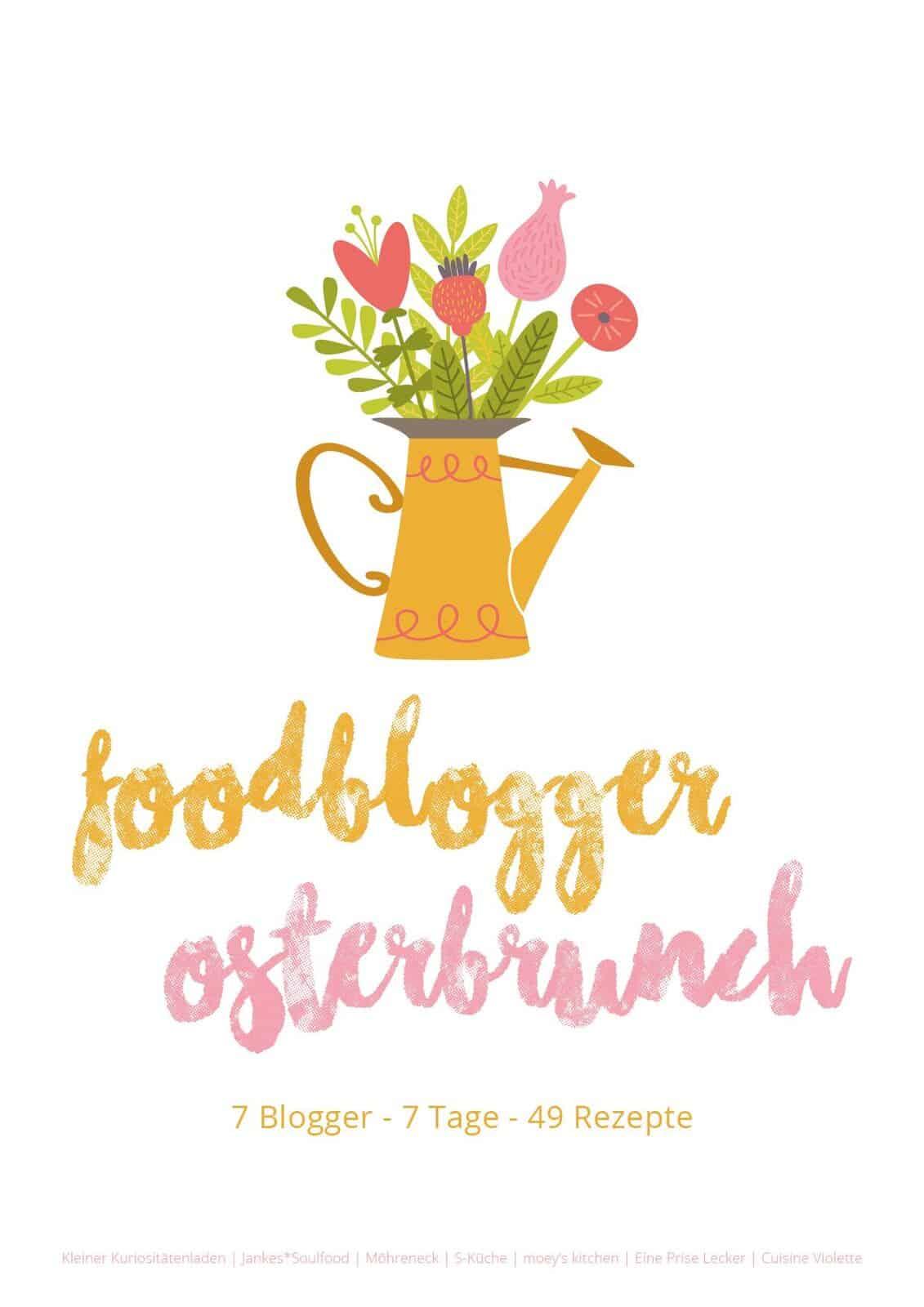 Der Foodblogger-Osterbrunch mit 49 tollen Rezepten von 7 Bloggern.