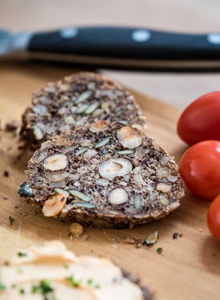 Super einfaches Low Carb Brot selber machen