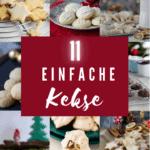11 einfache Rezepte für Plätzchen & Kekse