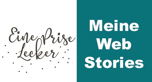 Banner mit Logo und Text_ meine web stories