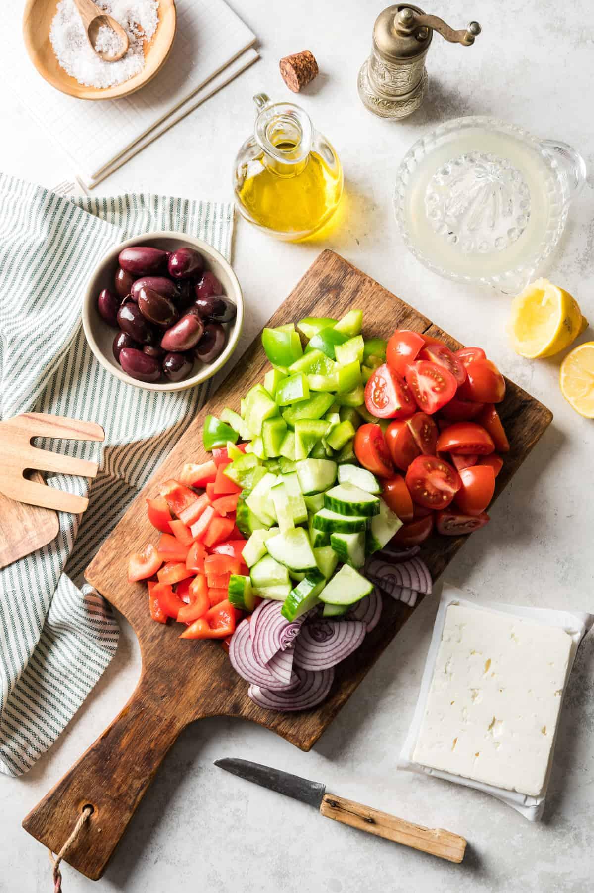 Zubereitungsschritt Bauernsalat
